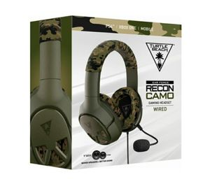 NEW! Turtle Beach Recon Camo Headset, Compatible w/PS4,XBOX 1,PC,PS3 & XBOX360, Purchased at GameStop $59.99 + Tax = $66 for Sale in Puyallup, WA