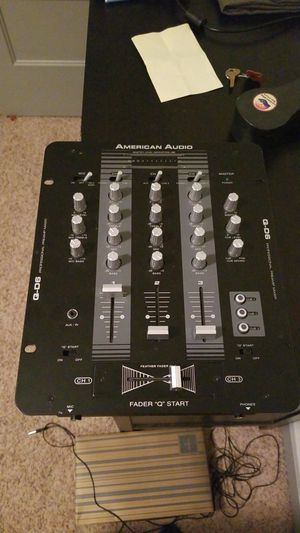 American audio Q D6 three line mixer for Sale in Denver, CO