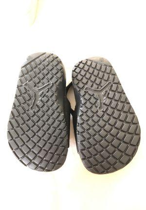 5fbc4e4a5 Toddler Air Jordan flip flop sandals size 7C for Sale in Coral Springs
