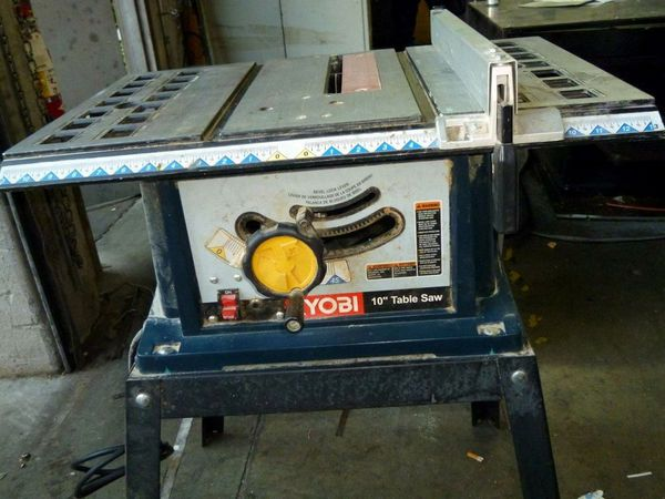 Ryobi Bts10 10 13 Amp Table Saw W Stand For Sale In Pompano Beach Fl Offerup