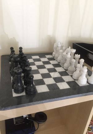 Full marble chess set for Sale in Silver Spring, MD