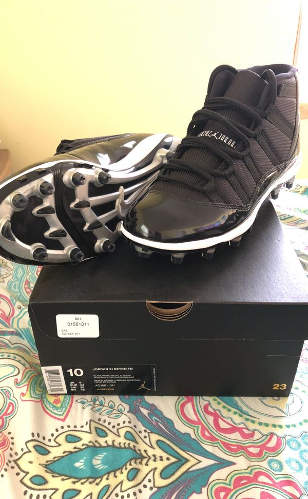 3f0d33b6cc13 Jordan 11 cleats size 10 for Sale in Philadelphia