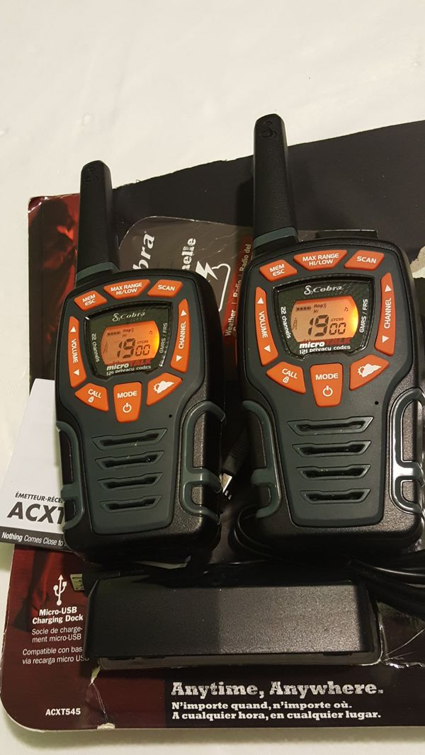 Cobra Walkie Talkies Micro Talk For Sale In Bellflower Ca Offerup