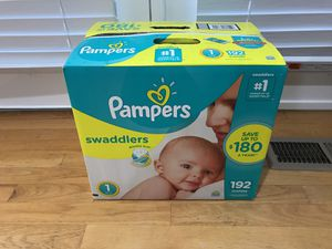 Pampers size 1 Diapers for Sale in Hendersonville, TN