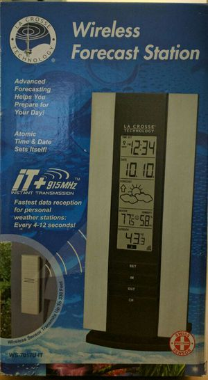 WS-7017U-IT La Crosse Technology Wireless Forecast Weather Station with TX29U-IT for Sale in Gaithersburg, MD