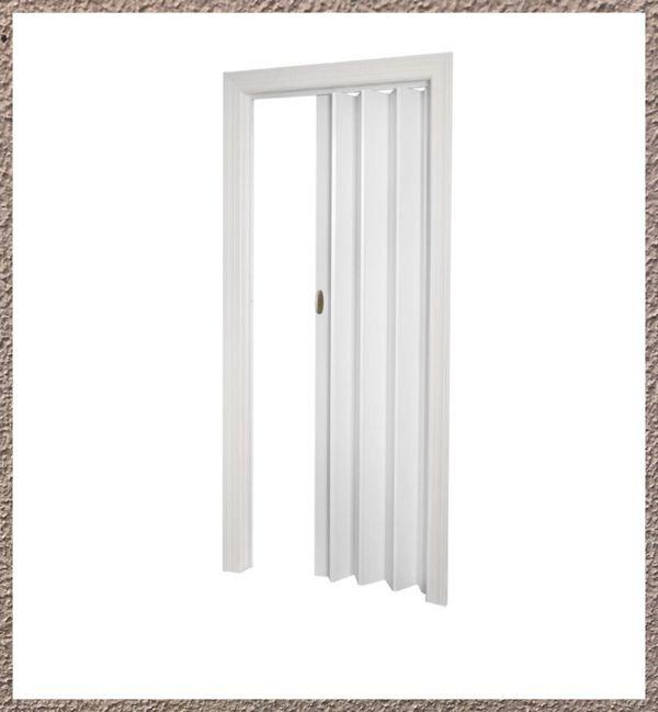 New Echo 32 x 80 in. Chestnut Folding Door White (Home & Garden) in ...