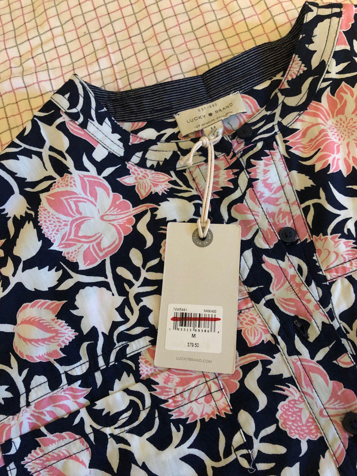 Lucky Brand shirt, women's Medium size shirt, never worn