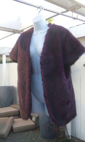 Adrienne Landau Wine Faux Fur Vest for Sale in Hayward a8292549c