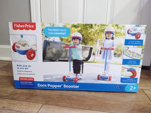 Photo Fisher Price Corn Popper Scooter