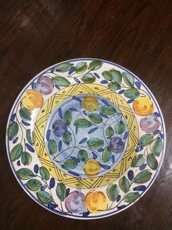 Decorative plate. Thumbnail