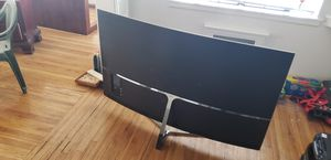65 inch samsung 4k ultra HD curved screen. for Sale in Salt Lake City, UT