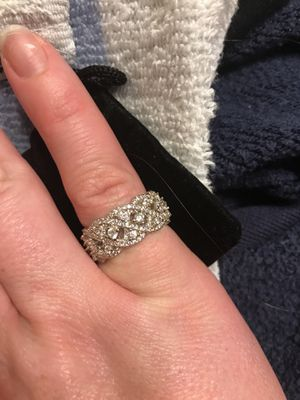 Size 8 engagement band for Sale in Cary, NC