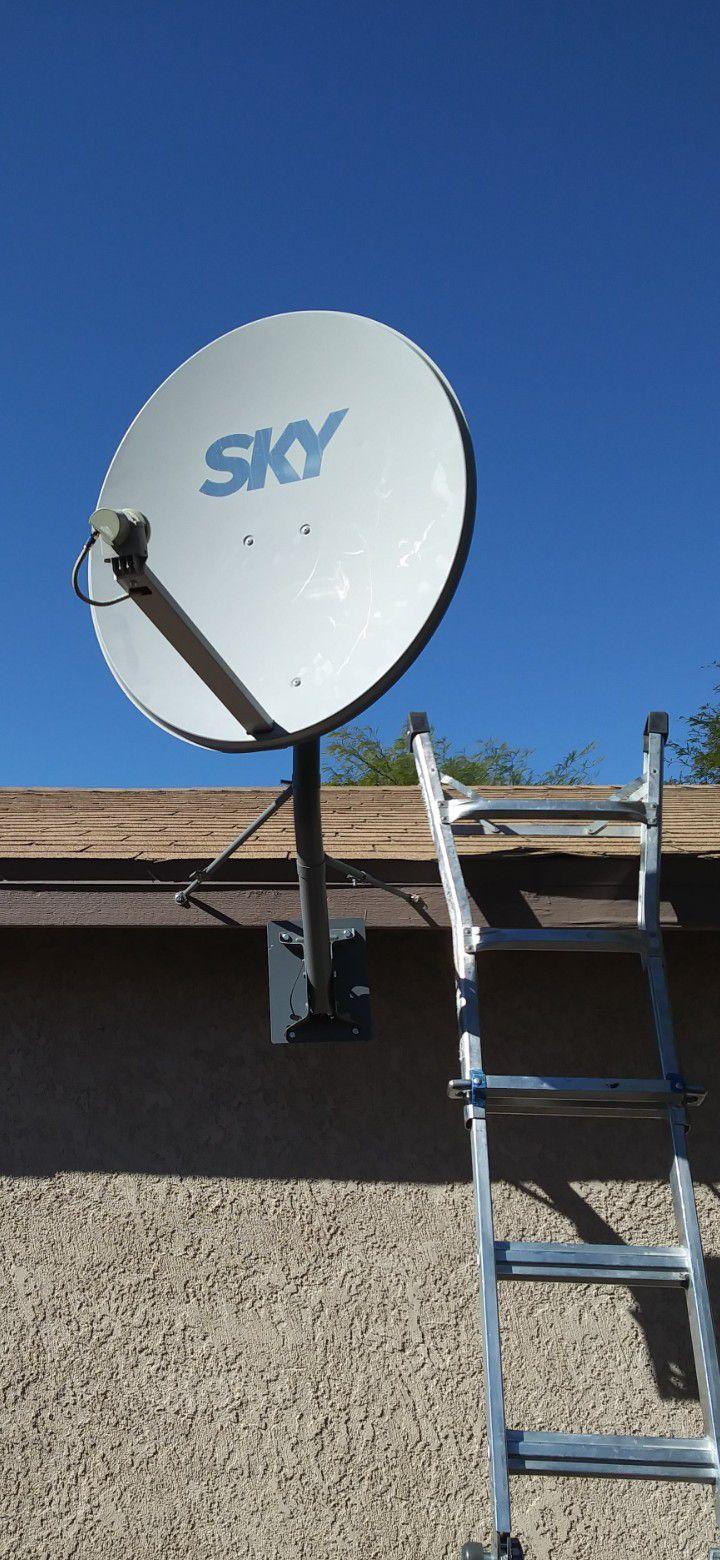 Sky Satelite Conectate A Tus Raises