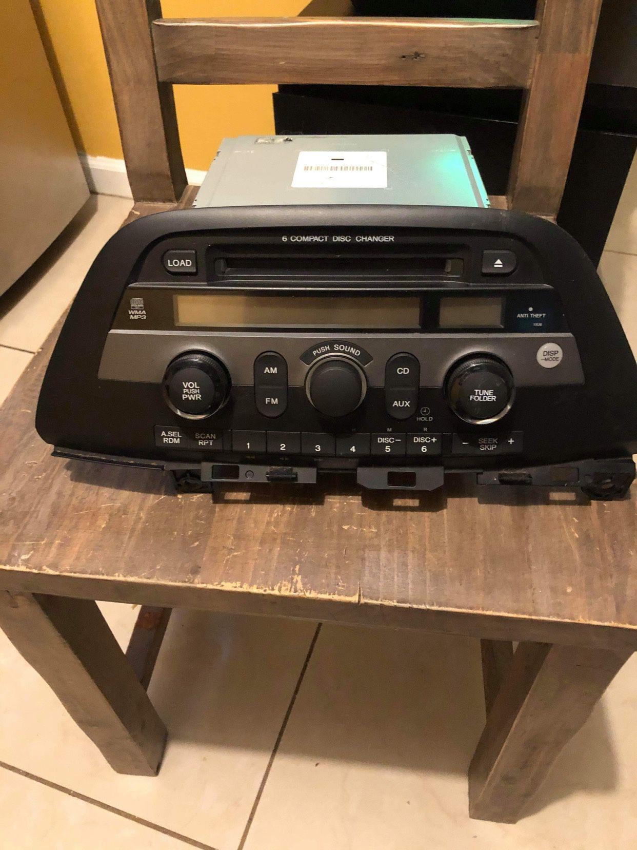 Radio Honda Odissey