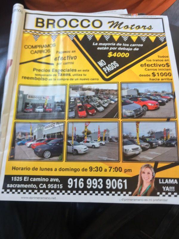 Brocco Motors for Sale in Sacramento, CA - OfferUp