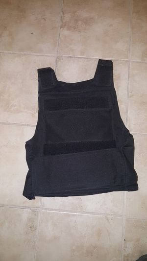 Bullet proof vest with armor, small - medium for Sale in Henderson, NV