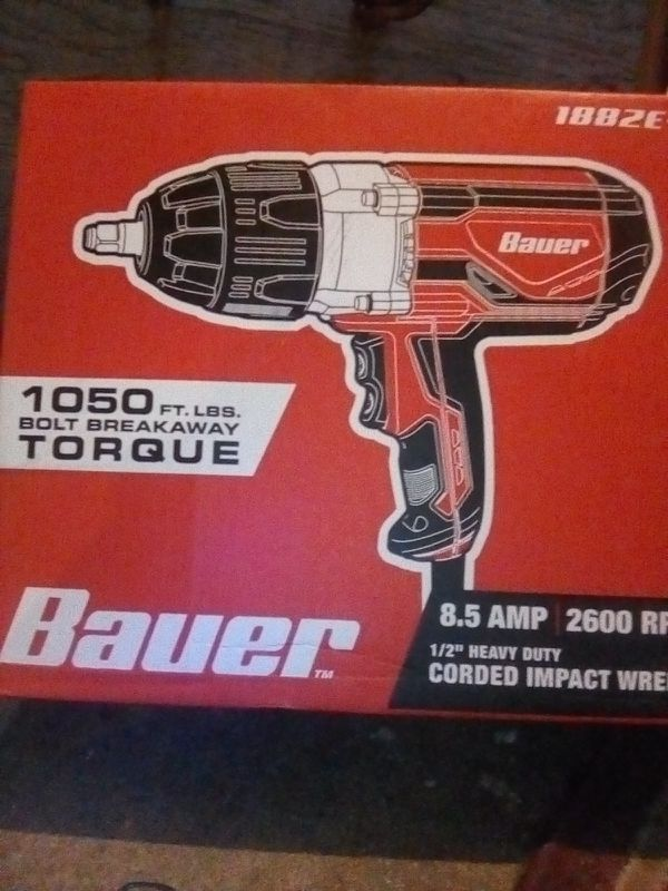 Bauer corded impact wrench for Sale in Fresno, CA - OfferUp