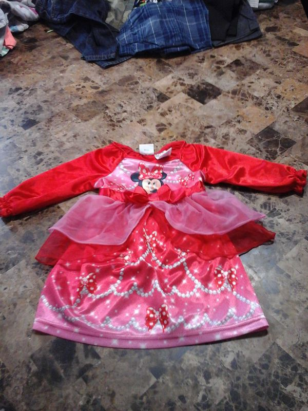 Girl\'s 12 month Minnie Mouse gown for Sale in Tulare, CA - OfferUp