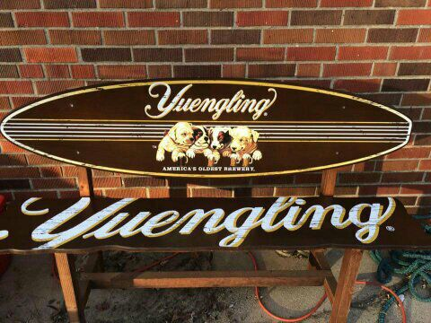 authentic yuengling surfboard bench for sale in franklin oh offerup