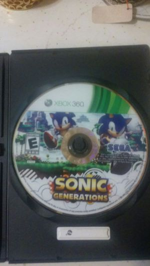 XBOX 360 Sonic Generations for Sale in Newark, NJ