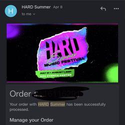 Hard Summer Tickets  Thumbnail