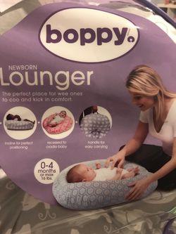 Boppy Lounger-Gray Elephant Thumbnail