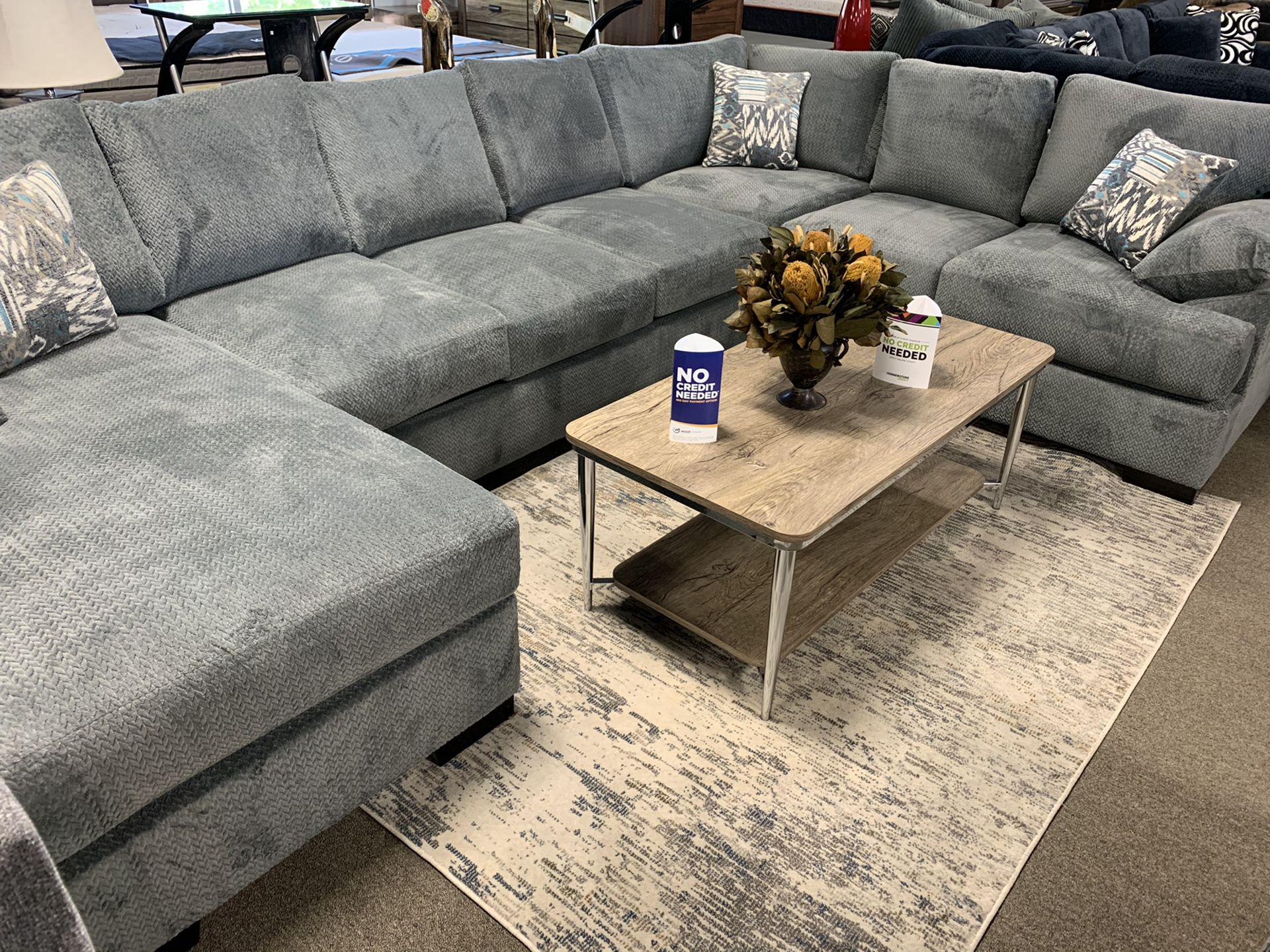 3Pc Sectional Available In Many Colors and Sizes‼️Easy Financing Available Only $27 Down 90 Days Same as Cash‼️No Credit Needed‼️