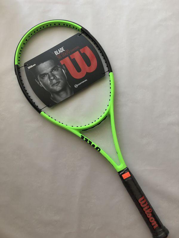 New Wilson Blade 98 18x20 Countervail Tennis Racket Racquet for Sale in  Dania Beach, FL - OfferUp