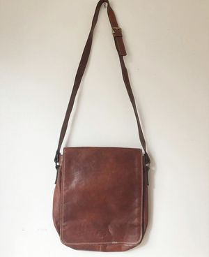 96aabc8ebcaa Leather messenger bag made in Italy. Fits a laptop. for Sale in Hillsboro,