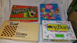 Vintage Board Games for Sale in Silver Spring, MD
