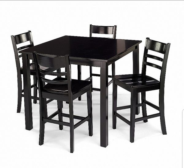 black dining table (furniture) in bremerton, wa - offerup Black Dining Table