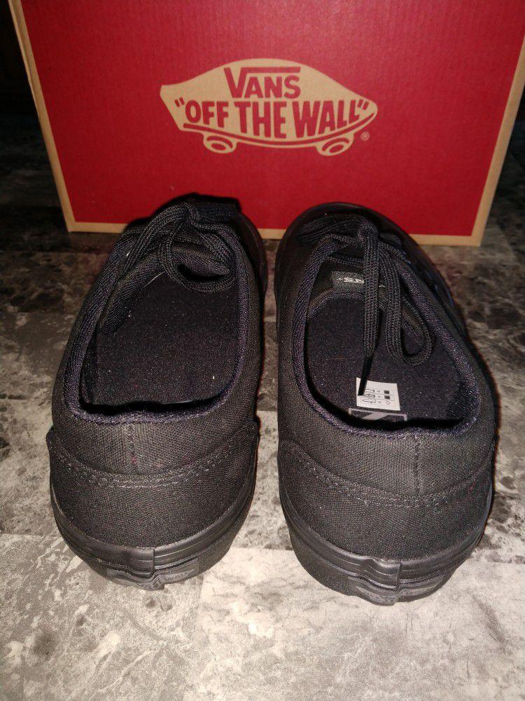 Ladies Black VANS Size 8.5