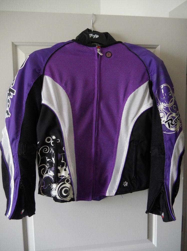 Photo Joe rocket mesh motorcycle jacket with liner womens size large