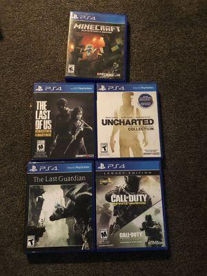 PS4 games for Sale in Arlington, VA