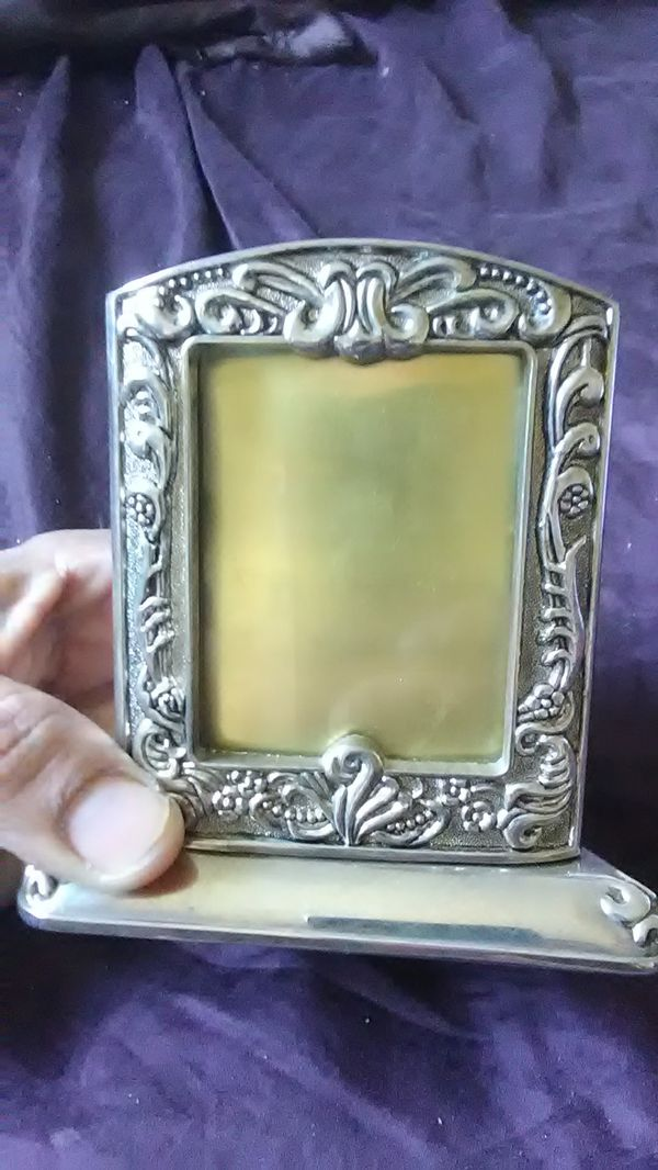 Godinger silver 3 sided triangle picture frame. (Collectibles) in ...