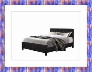 King platform bed free mattress and delivery for Sale in Ashburn, VA