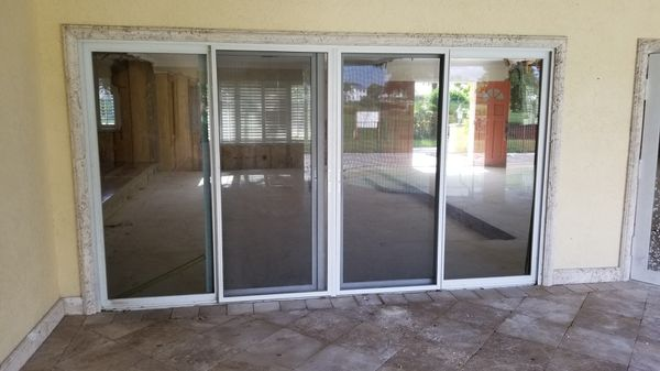 Pgt Hurricane Impact Sliding Glass Door For Sale In Fort Lauderdale