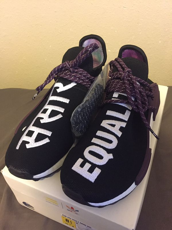 9b50ed06309e Adidas human race nmd Pharrell holi festival Core black for Sale in ...
