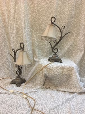 Corded Bookcase or desk lamps - BEST OFFER for Sale in Manassas, VA