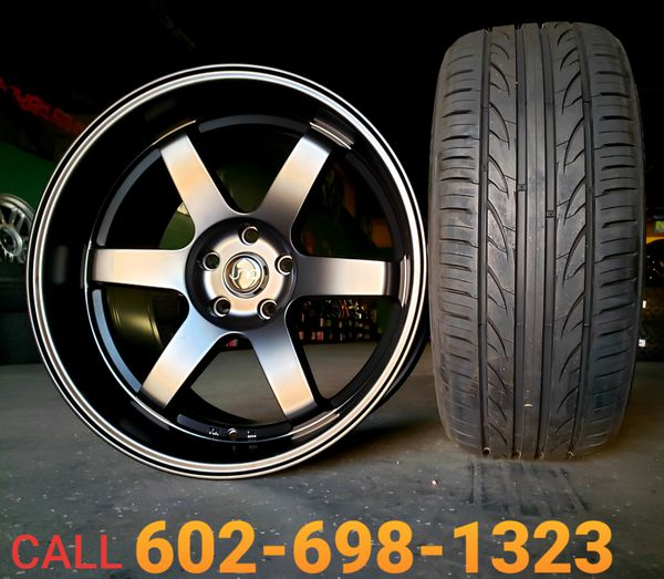 19 Inch 5 Lug Staggered Wheels & Tires (we Finance) For