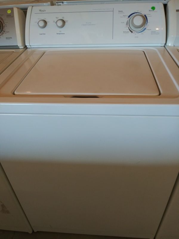 Whirlpool Washer Free Delivery And 90 Day Warranty For