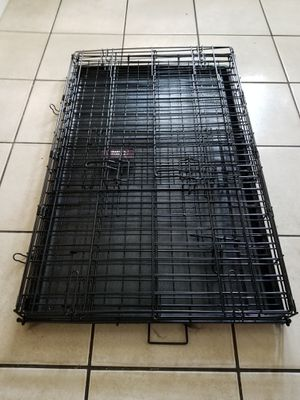 """36"""" Dog Crate, collapsible, and the cover is included for Sale in Martinsburg, WV"""