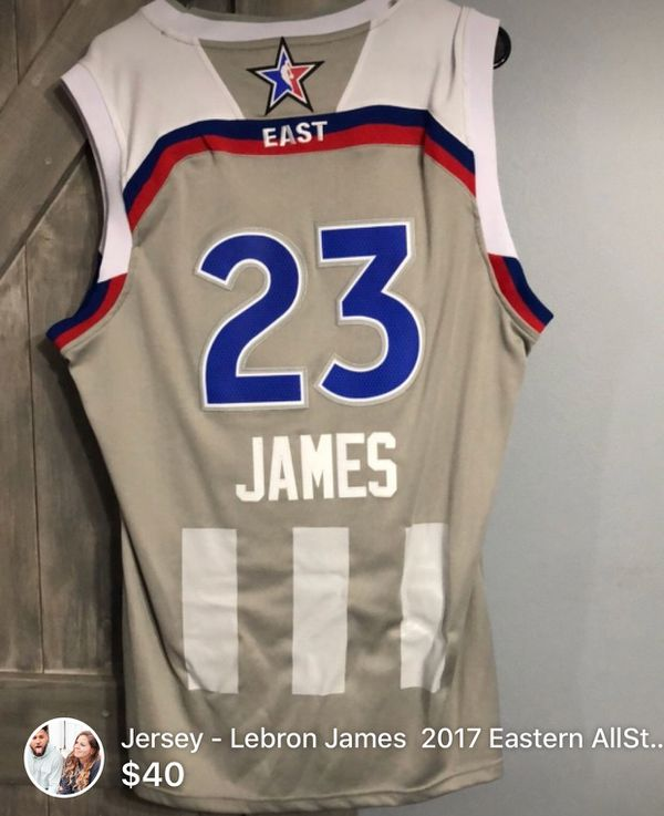 cheaper d7995 fa809 LeBron James All Star Jersey for Sale in Galloway, OH - OfferUp