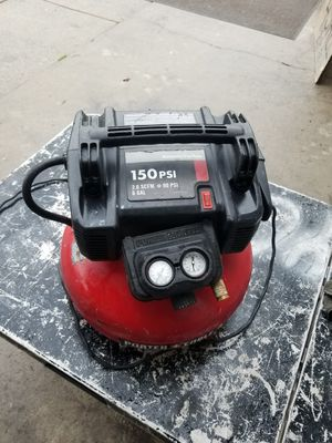 Photo 150 p.s.i 6 gal procter cable compressor firm
