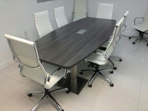 GABLES OFFICE FURNITURE SHOWROOM GREAT PRICES For Sale In Miami FL - Conference table miami