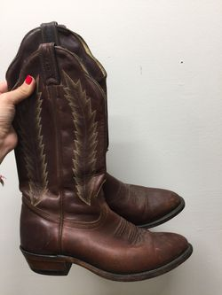 Boulet Cowboy Boots 7.5 Thumbnail