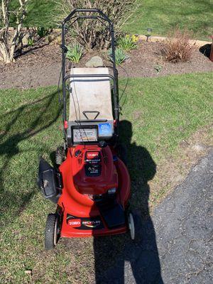 Photo Very nice toro 6.5hp 22in self propelled lawn mower