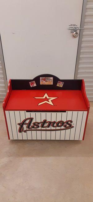 Photo HOUSTON ASTROS CHILDREN'S TOY BOX