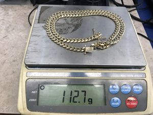 10k solid gold Cuban link chain for Sale in Kissimmee, FL