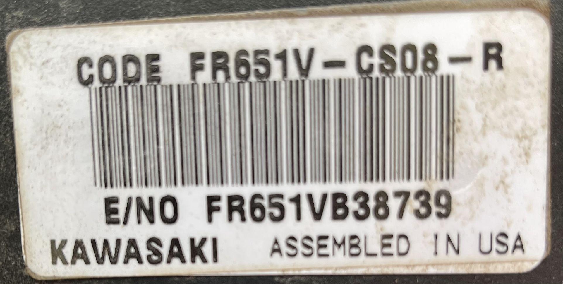21.5 HP Kawasaki V-Twin Engine